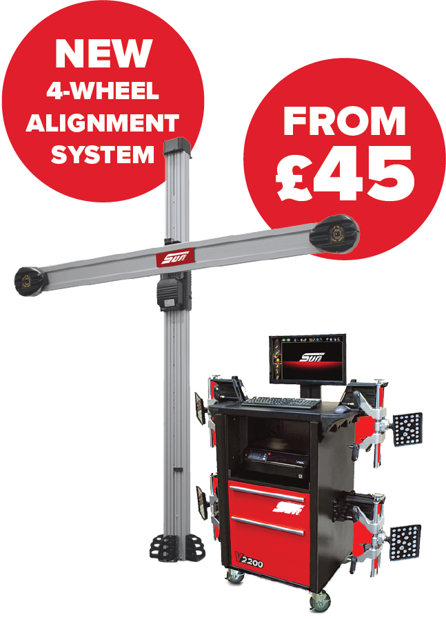 Snapon 3D Wheel Alignment Equipment